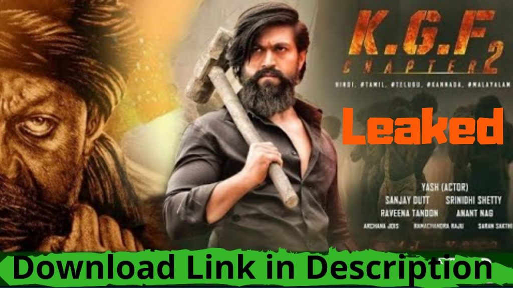 KGF Chapter 2 Full Movie Hindi download Tamilrockers
