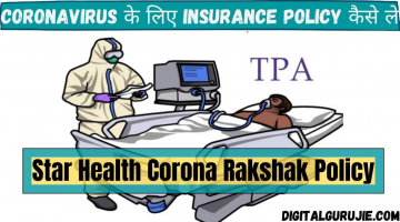 Star Health Corona Rakshak Policy